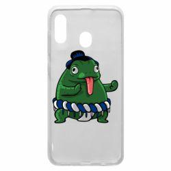 Чехол для Samsung A30 Sumo toad