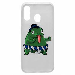 Чехол для Samsung A40 Sumo toad