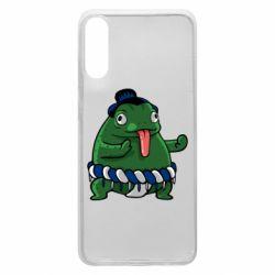 Чехол для Samsung A70 Sumo toad