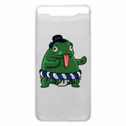 Чехол для Samsung A80 Sumo toad
