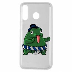 Чехол для Samsung M30 Sumo toad