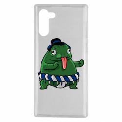 Чехол для Samsung Note 10 Sumo toad