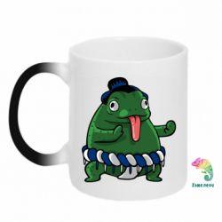 Кружка-хамелеон Sumo toad