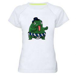 Женская спортивная футболка Sumo toad