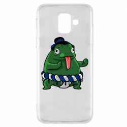 Чехол для Samsung A6 2018 Sumo toad