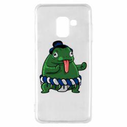 Чехол для Samsung A8 2018 Sumo toad