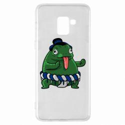 Чехол для Samsung A8+ 2018 Sumo toad