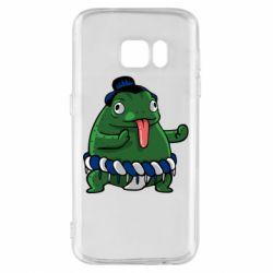 Чехол для Samsung S7 Sumo toad