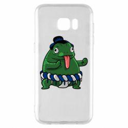 Чехол для Samsung S7 EDGE Sumo toad