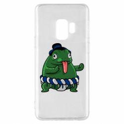 Чехол для Samsung S9 Sumo toad