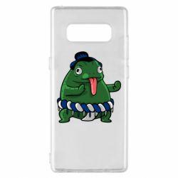 Чехол для Samsung Note 8 Sumo toad
