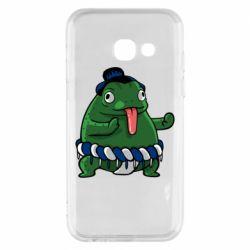 Чехол для Samsung A3 2017 Sumo toad