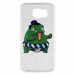 Чехол для Samsung S6 Sumo toad