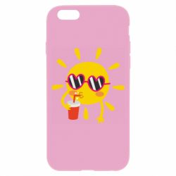 Чехол для iPhone 6/6S Sun with juice