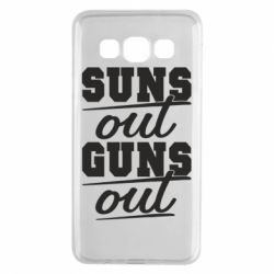 Чехол для Samsung A3 2015 Suns out guns out