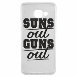 Чехол для Samsung A3 2016 Suns out guns out