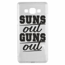 Чехол для Samsung A5 2015 Suns out guns out