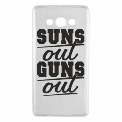 Чехол для Samsung A7 2015 Suns out guns out