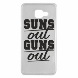 Чехол для Samsung A7 2016 Suns out guns out
