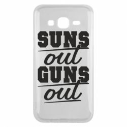 Чехол для Samsung J5 2015 Suns out guns out