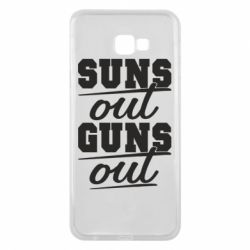 Чехол для Samsung J4 Plus 2018 Suns out guns out