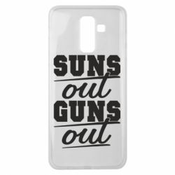Чехол для Samsung J8 2018 Suns out guns out