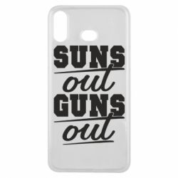 Чехол для Samsung A6s Suns out guns out