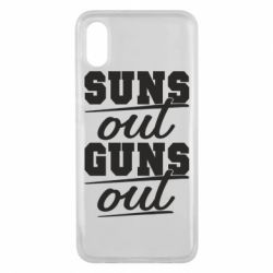 Чехол для Xiaomi Mi8 Pro Suns out guns out