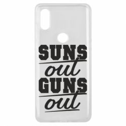 Чехол для Xiaomi Mi Mix 3 Suns out guns out
