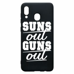Чехол для Samsung A30 Suns out guns out