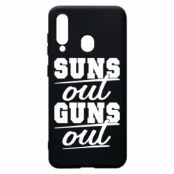 Чехол для Samsung A60 Suns out guns out