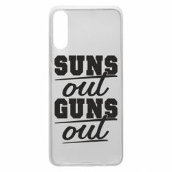 Чехол для Samsung A70 Suns out guns out