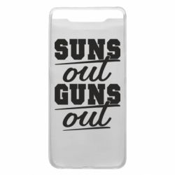 Чехол для Samsung A80 Suns out guns out