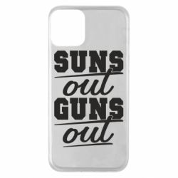 Чехол для iPhone 11 Suns out guns out