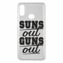 Чехол для Samsung A10s Suns out guns out