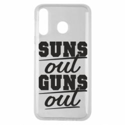 Чехол для Samsung M30 Suns out guns out