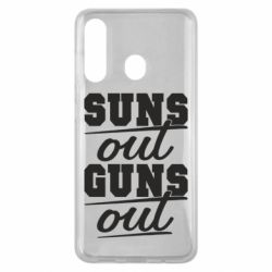 Чехол для Samsung M40 Suns out guns out