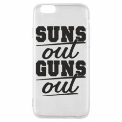 Чехол для iPhone 6/6S Suns out guns out