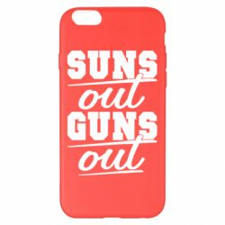 Чехол для iPhone 6 Plus/6S Plus Suns out guns out