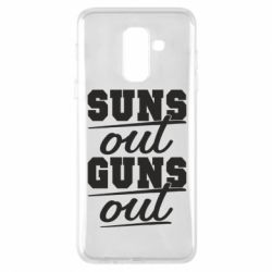 Чехол для Samsung A6+ 2018 Suns out guns out