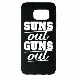 Чехол для Samsung S7 EDGE Suns out guns out