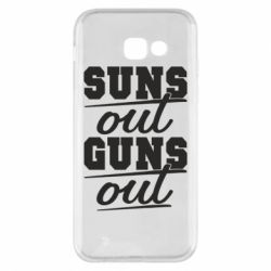 Чехол для Samsung A5 2017 Suns out guns out