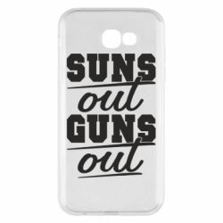 Чехол для Samsung A7 2017 Suns out guns out