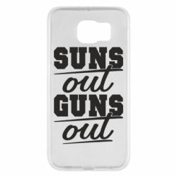 Чехол для Samsung S6 Suns out guns out