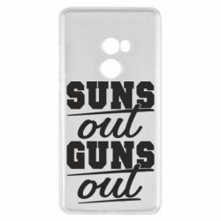 Чехол для Xiaomi Mi Mix 2 Suns out guns out