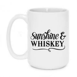 Кружка 420ml Sunshine & whiskey