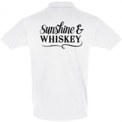Футболка Поло Sunshine & whiskey