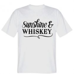 Футболка Sunshine & whiskey
