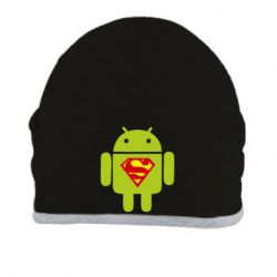 Шапка Super Android - FatLine