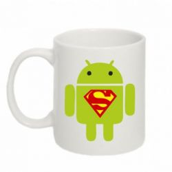 Кружка 320ml Super Android